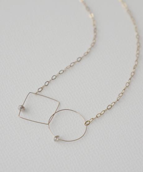 【MELISSA McARTHUR】K9 ラフダイヤモンドネックレス
