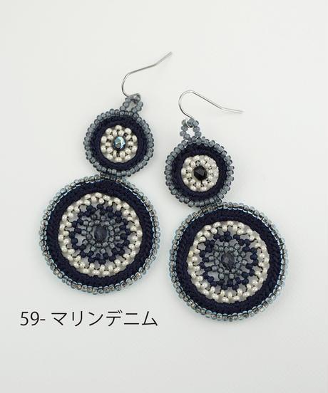 【VIDA DULCE】ハンドクラフトビーズ ピアス