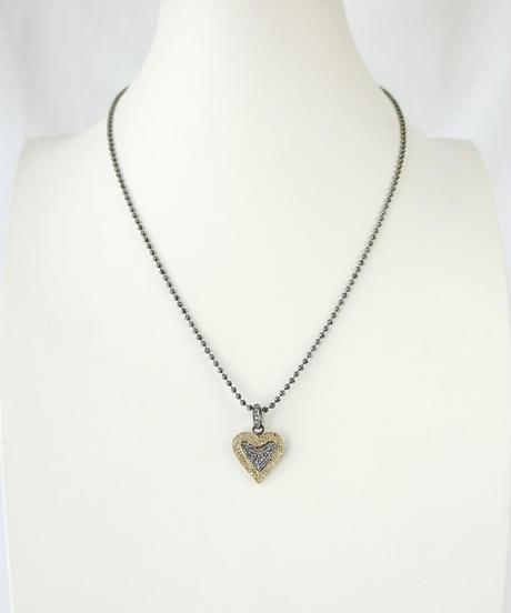 【MARGO MORRISON】ダイヤモンド ハートモチーフ ペンダントトップ