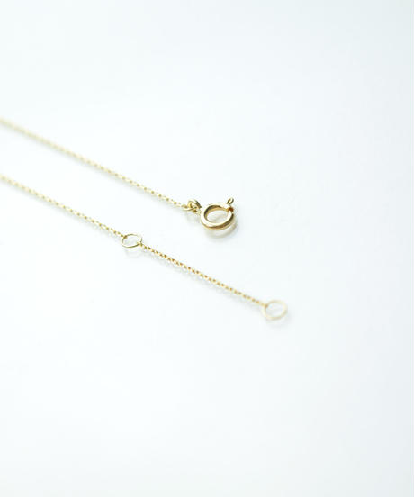 【anqanq.】 K10 pearleven ネックレス