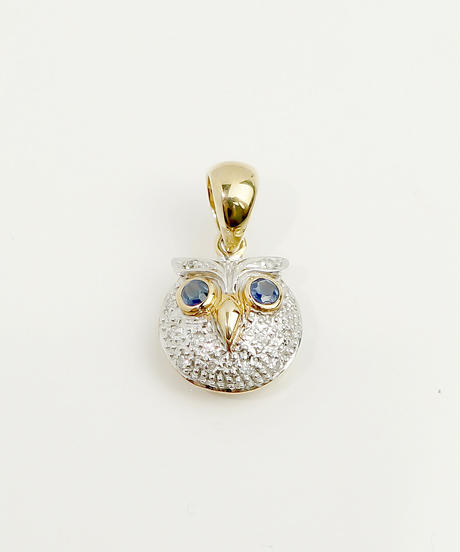 【LOIS】Owl pearlペンダントトップ