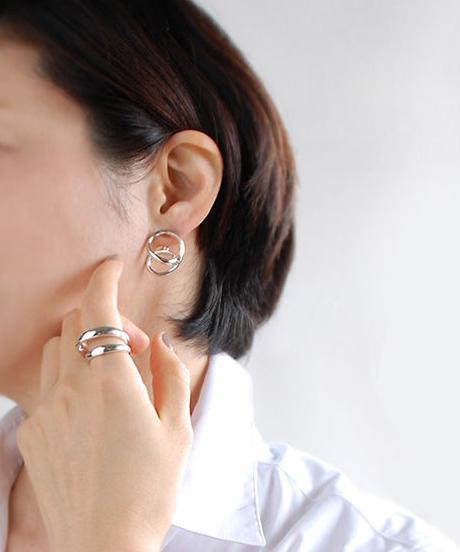 【hiro kawabata】DRAWING EARRING/PIERCED DR042