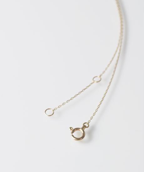 【anq.】K10・ダイヤモンドネックレス 「Felice 」