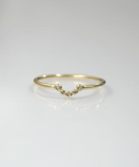 【LIO and LINN】K14 Good Luck Ring