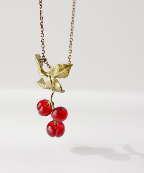 【MICHAEL MICHAUD】Morello Cherry ネックレス