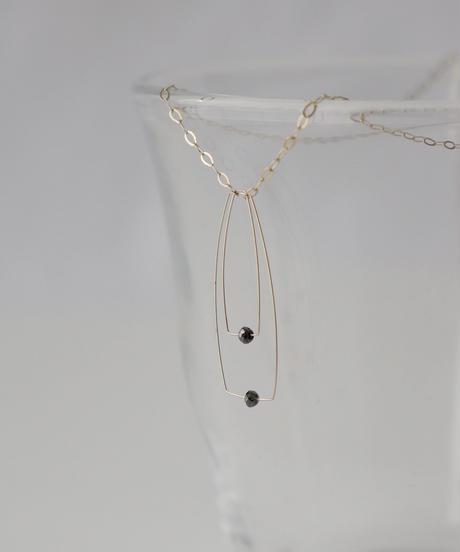 【MELISSA McARTHUR】K9 ブラックダイヤモンドネックレス