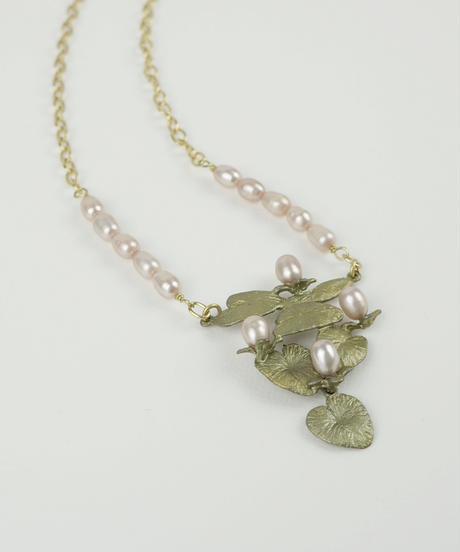MICHAEL MICHAUD】WATER LILY ネックレス