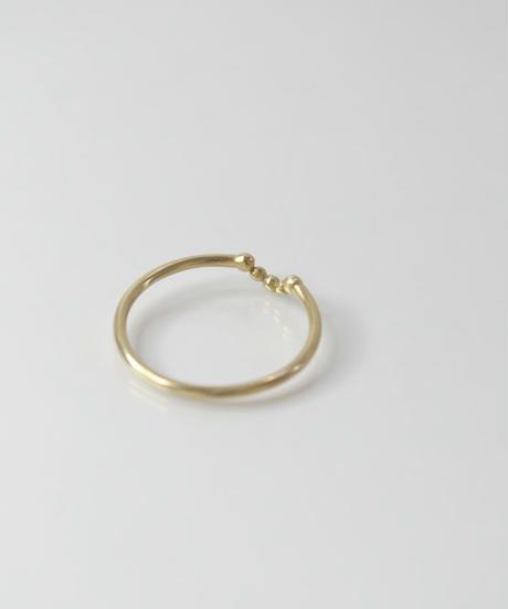 【LIO and LINN】K14 Good Luck Ring