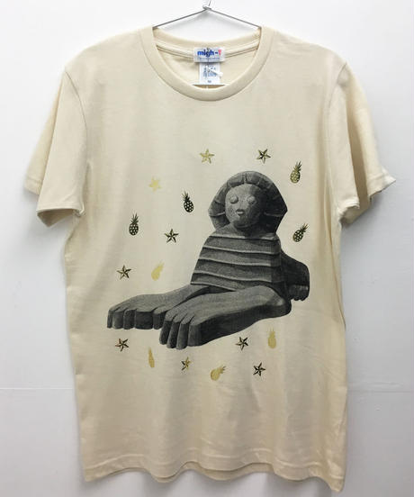 スフィンクスTシャツ (ivory)