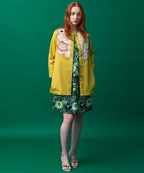 ラフレシアのスプリングジャケット(yellow)