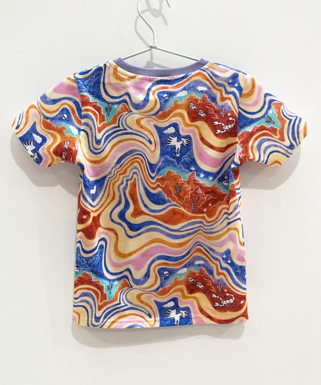 マーブルグランドキャニオンキッズTシャツ (multi)