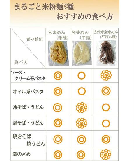 3種のまるごと米粉麺 3種ミックス計6食
