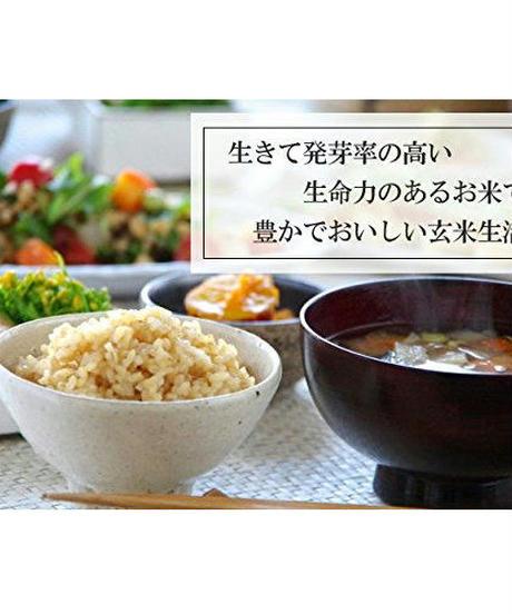 減々農薬栽培  生きているお米 ヒノヒカリ お試し玄米 1.5kg