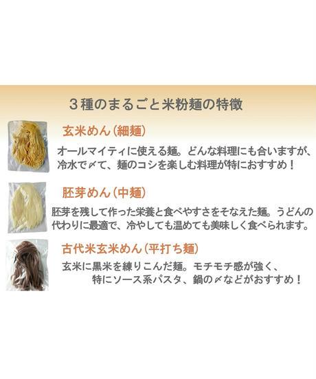 まるごと米粉麺 胚芽めん 6食