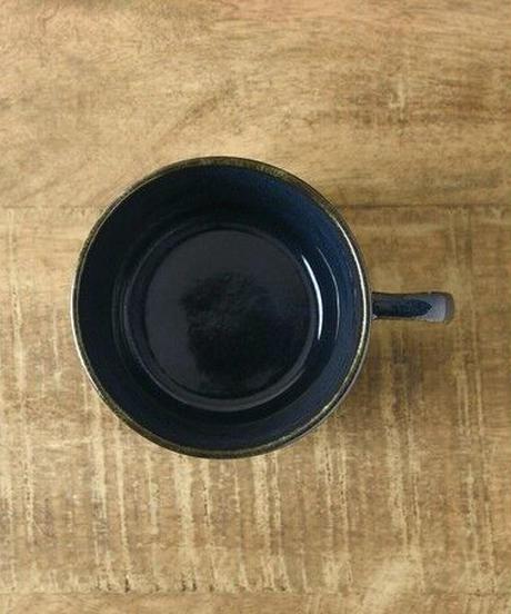 コーヒーカップ深ブルー