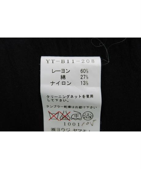 Y's yohji yamamoto 切替えデザインブラウス YT-B11-208