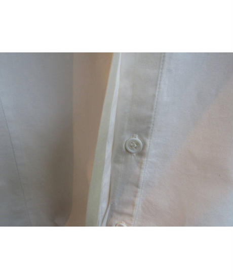 yohji yamamoto COSTUME D' HOMME フライフロント 素材切替ブラウス