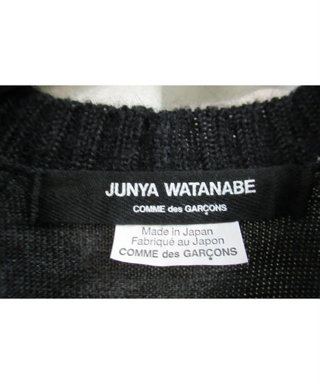 AD2014 JUNYA WATANABE COMME des GARCONS ポンチョ風 変形デザインニット