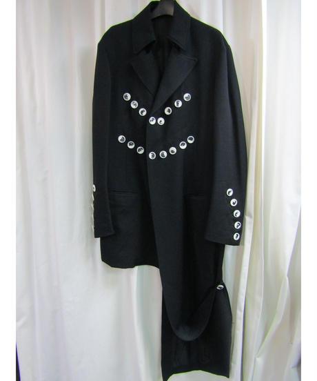19aw yohji yamamoto pour homme アシメトリーロングジャケット