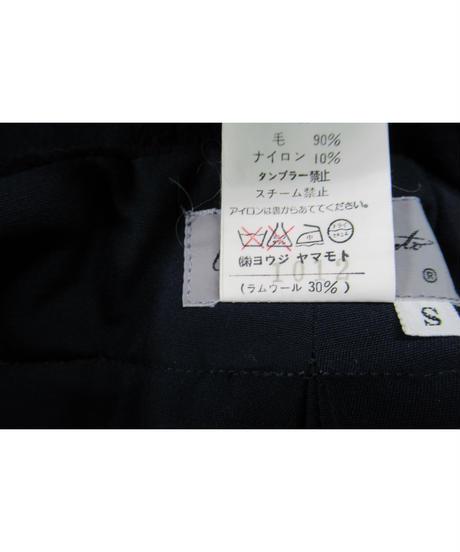 80's yohji yamamoto femme vintage 紺 デザインジョッパーズパンツ