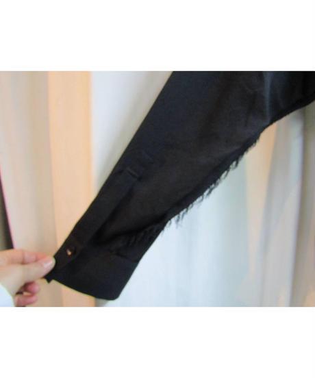 yohji yamamoto +noir 袖切り替えデザインカットソー NF-B05-806