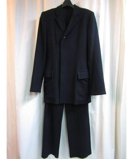 96aw yohji yamamoto femme vintage フラノシンプルセットアップ FG-J74-192