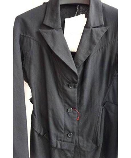 新品 09ss yohji yamamoto femme デザインダメージ加工ジャケット