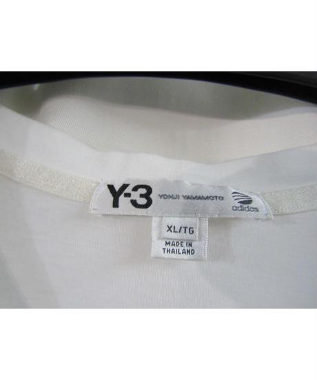 Y-3 yohji yamamoto Vネックバックプリントカットソー