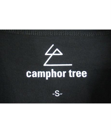 camphor tree 黒 ステリブデザインカットソー S size