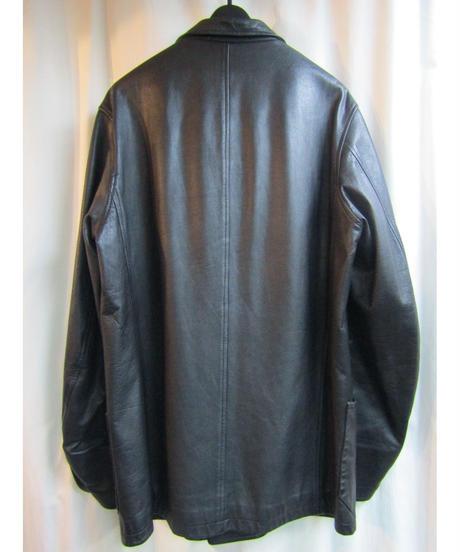 97aw オールドyohji yamamoto pour homme vintage レザーダブルジャケット