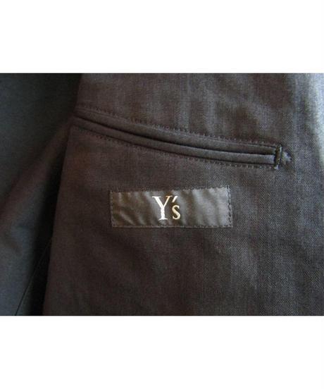 Y's yohji yamamoto フラップポケットミリタリージャケット YJ-J14-027