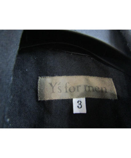 Y's for men yohji yamamoto 切替えデザインシンプルブラウス