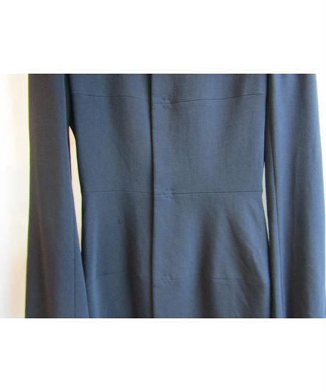 yohji yamamoto +noir 切替デザインシャツジャケット NI-J13-104