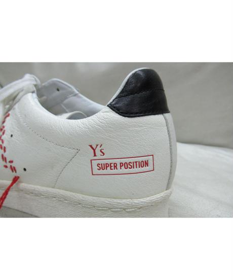 Y's SUPER POSITION yohji yamamoto adidas×Y's コラボスニーカー