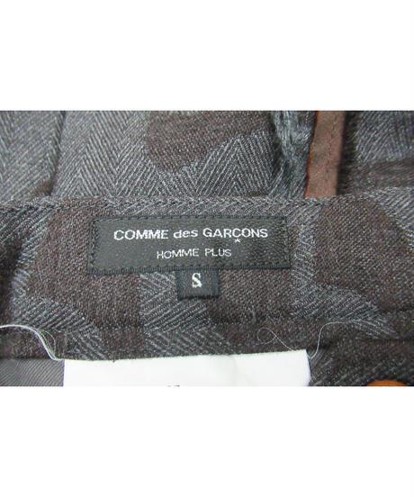 AD2002 COMME des GARCONS HOMME PLUS センター切替えデザインパンツ