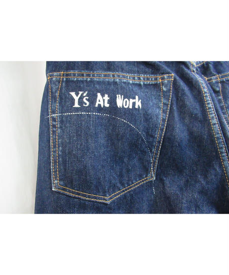 Y's for men yohji yamamoto 【Y's At Work】MAGIC WASH デニムパンツ