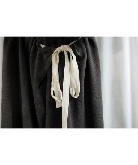 Y's yohji yamamoto 巾着付きデザインスカート YZ-T92-470
