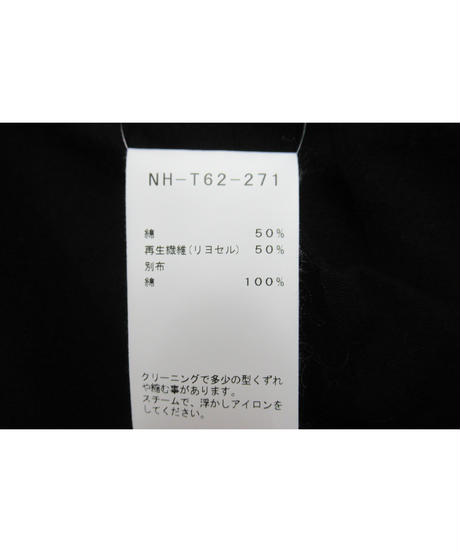 19ss B yohji yamamoto ベルトデザインカットソー NH-T62-271