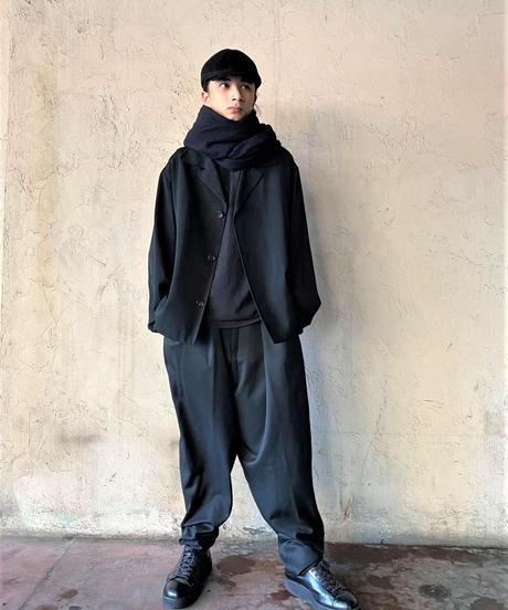 CLOSE GAME MASAYUKI MIZOGAMI 大判 ロングストール  黒