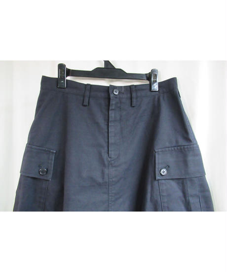 Y's yohji yamamoto 素材レイヤードデザインスカート YB-S01-024