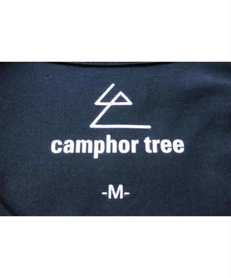 camphor tree 紺 シンプルTシャツ