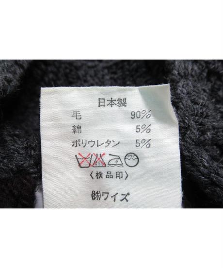 激レア 84aw yohji yamamoto femme vintage オーバーサイズ デザインニット