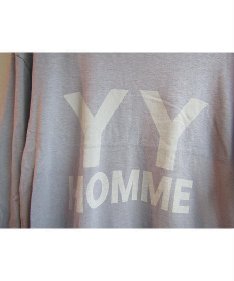 11aw yohji yamamoto pour homme プリントTシャツ