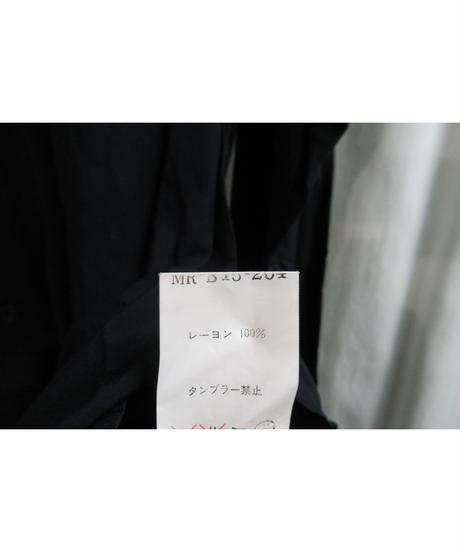 Y's for men yohji yamamoto 貝ボタンシンプルレーヨンブラウス