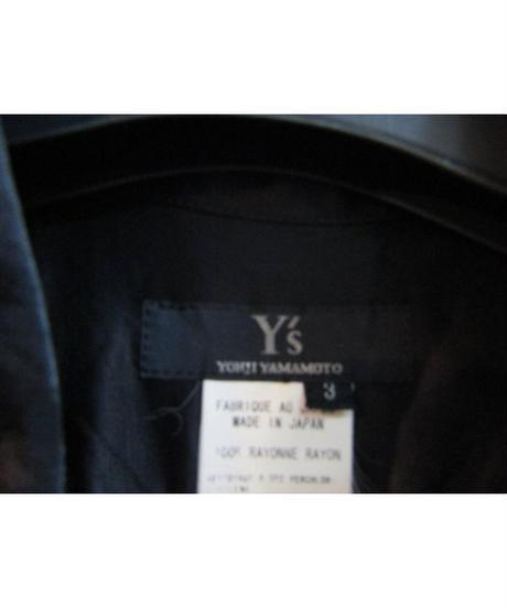 Y's yohji yamamoto 赤ラインシンプルブラウス