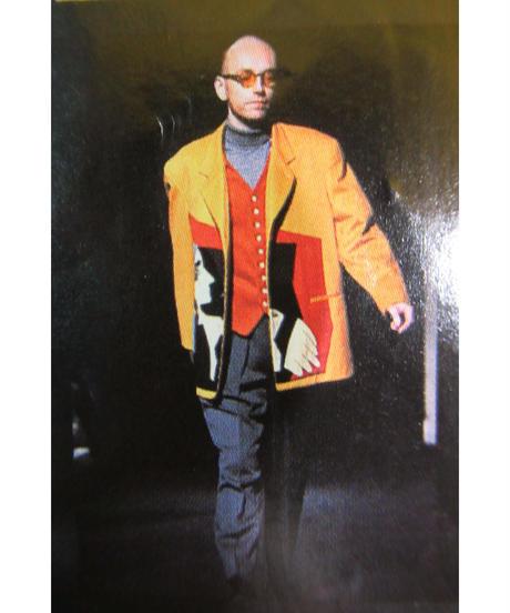 激レア 91aw 6.1 the men yohji yamamoto pour homme vintage デザインベスト
