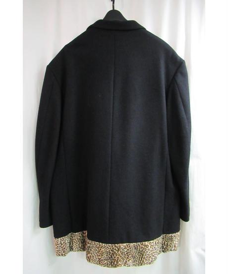 レア 92aw yohji yamamoto pour homme vintage SAMPLE ヒョウ柄切替えデザインジャケット