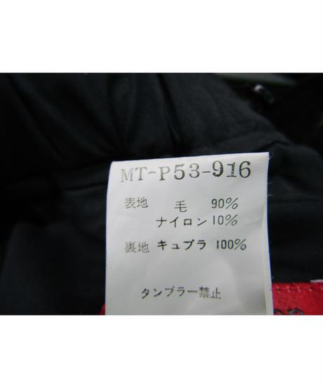 赤タグ Y's for men yohji yamamoto ゴムシャーリングシンプルパンツ MT-P53-916