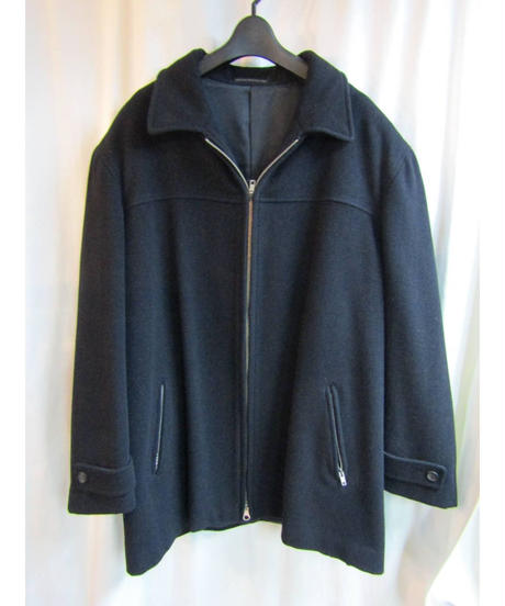 90aw yohji yamamoto pour homme vintage 黒 バックジッパーポケット付きブルゾン