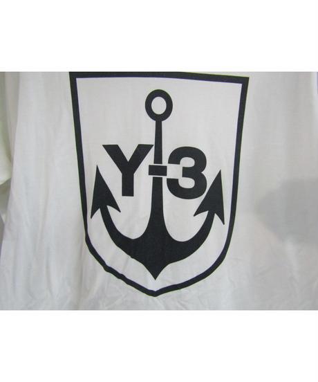 Y-3yohji yamamoto 襟デザインプリントカットソー